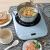 珍貢家庭IHクッキングヒッタミニ省エネ炒め全自動学生電池コンロ知能新商品を発売しました。青い鍋+フライパン+フライパン+スープスプーン+木シャベル+ドライバー