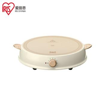 アイリスIHIH COS_キングヒーター鍋家庭用陶磁器電熱鍋セットIRIIS OHYAMA IHL-R 14 Cアイボリー白IH KG HIータイ