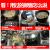 威夫人IH克克克克克hiータタ家庭用3500 W凹面大出力商用電磁かまどの爆発炒火ボイラーボタン)凹面シングルマシン+フライパン+スープ鍋