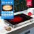 尚朋堂YS-TA 2207 FJ電気陶炉低放射線不挑鍋IH Kuc hiーホームデスクトップ知能ドイツ輸入技術光波炉電気陶炉オーブングリルブラック