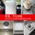 広東省西半角(PEGEI)IH KUC KGフラットホーム家庭用日本輸入NEGパネル超薄型バッテリーコンロのインテリジェントパワー爆発省エネ鍋コンロセット規格品シルバー灰色単機+スープ鍋+フライパン