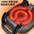 IHクッキングヒュタ鍋付き一体式家庭用韓式多機能電熱鍋学生寮のしゃぶしゃぶご飯は電気フライパンにくっつかないです。zz紅6 L双管3 D速熱+刃物蒸しスプーンリークシャベル